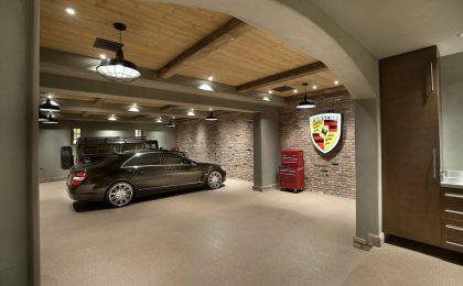 Photo: Epoxy Garage Floor