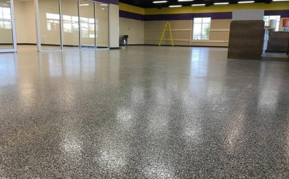 Photo: Epoxy Flake Floor