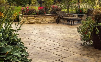 Photo: Stamped Concrete