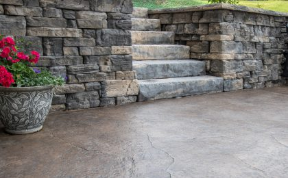 Photo: Seamless Stamped Concrete