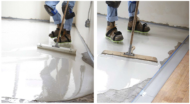 Photo: Underlay Floor Leveling