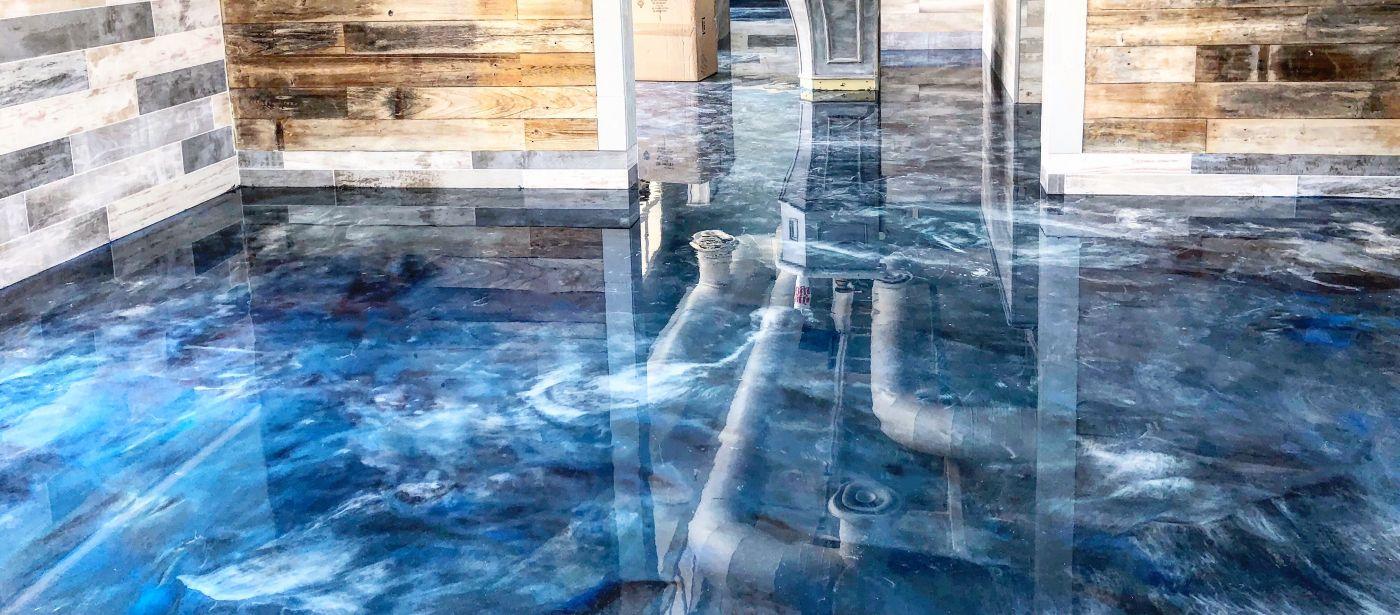 Polished Concrete Epoxy Floors Houston